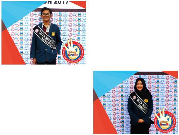 Juara II Duta Mahasiswa Generasi Berencana, Duta Intelektual, dan Duta Favorit